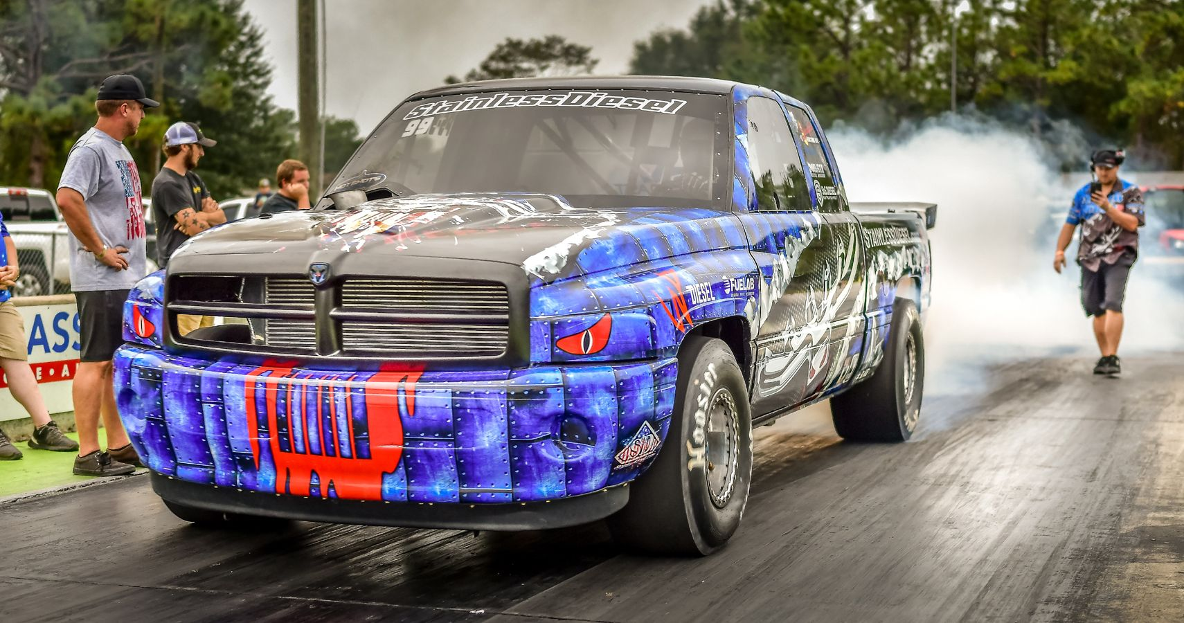 This 2000-HP Stainless Diesel Ram Truck Is Shooting For Another World Speed Record