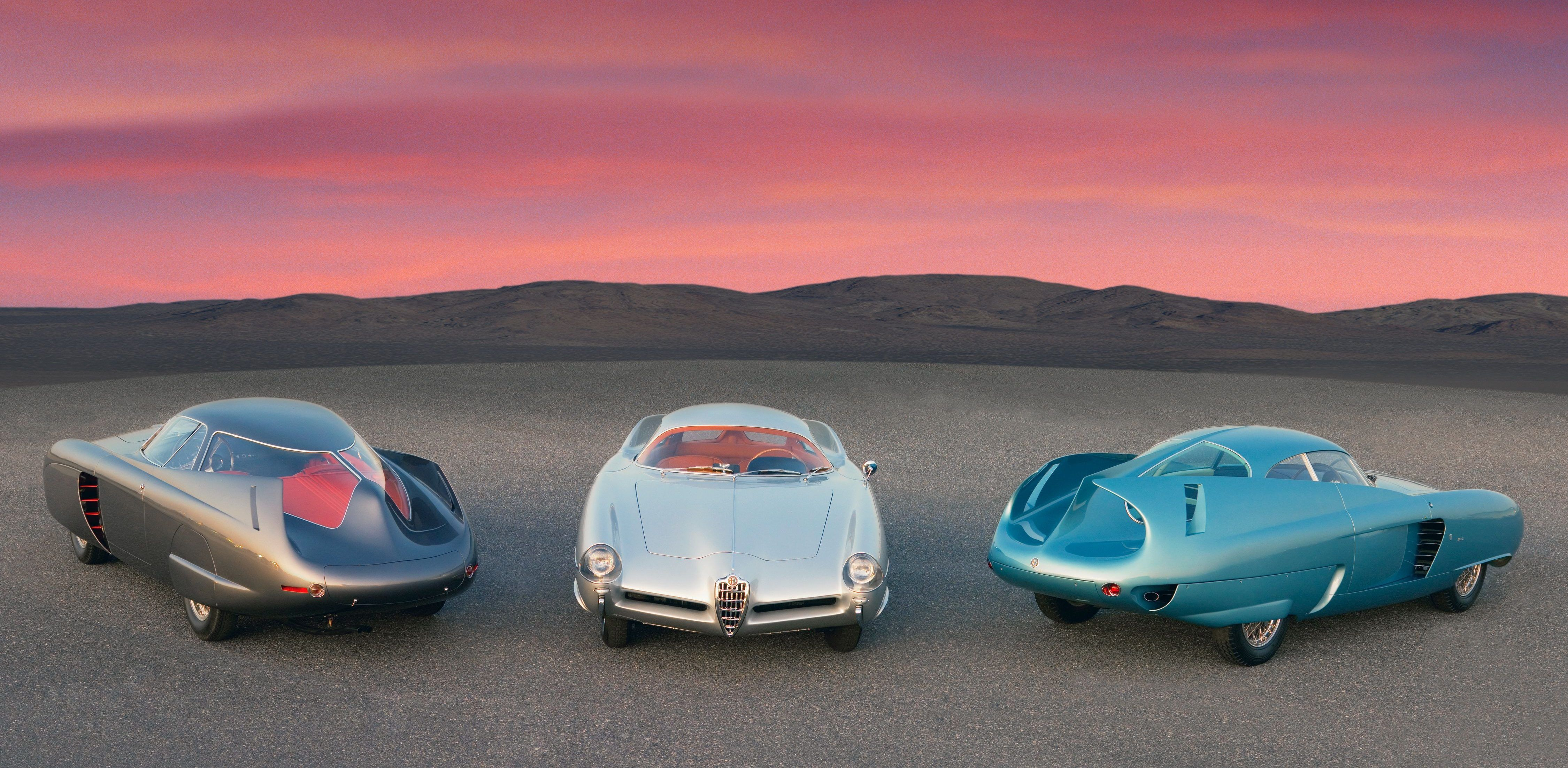 Would You Spend $20 Million On These Alfa Romeo Concept Cars?