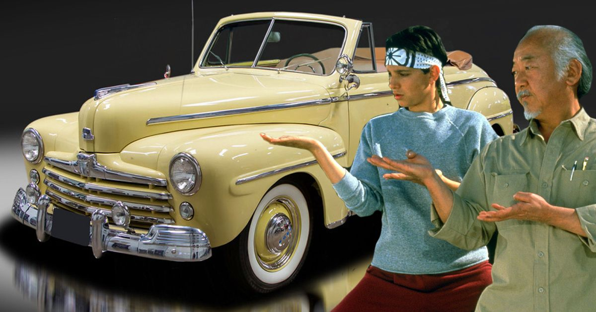 Here's What Happened To The Vintage Cars From The Karate Kid