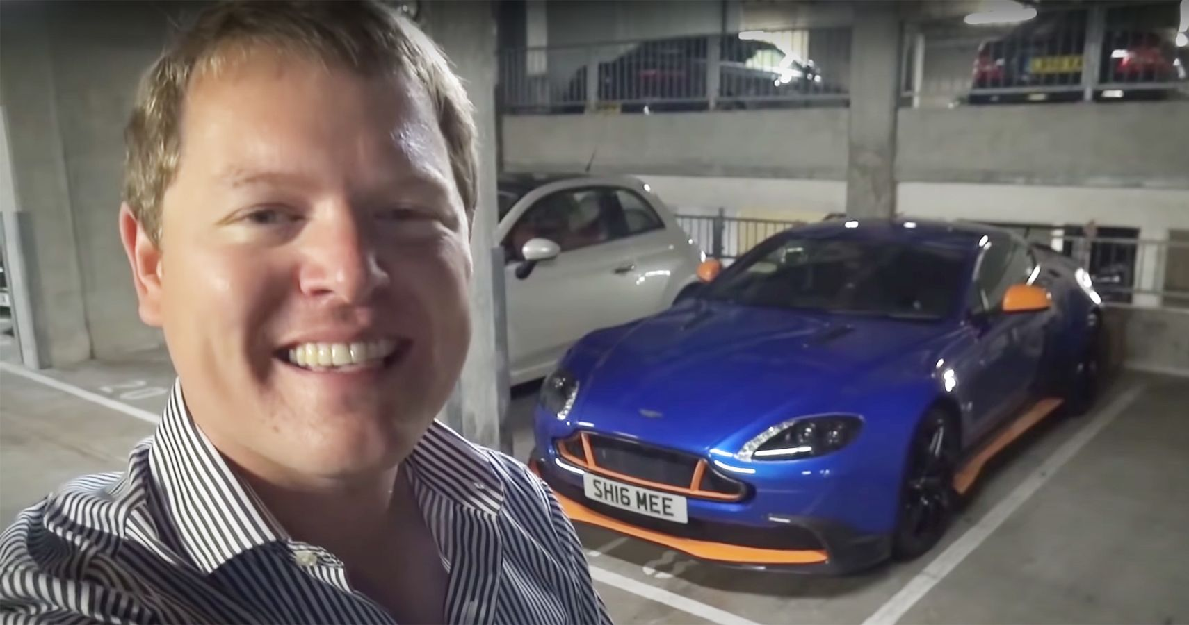 Watch Shmee150 Travel 500 Miles From UK To Germany In His Aston Martin Vantage GT8