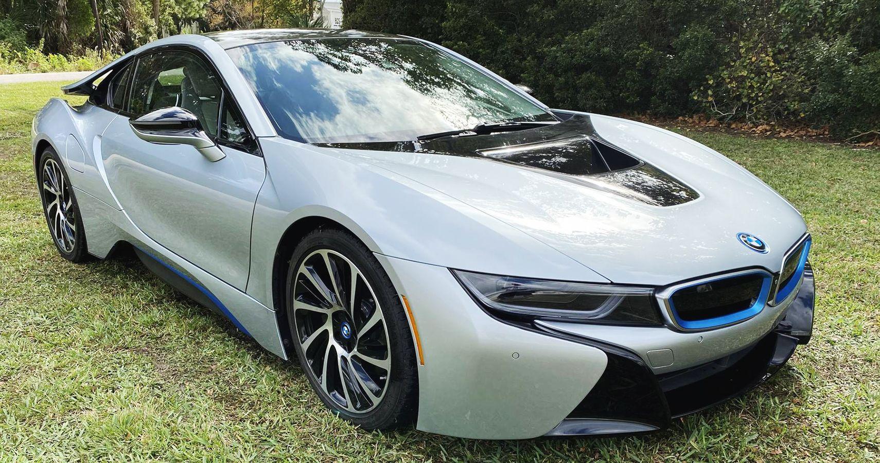 Handsome 2016 BMW i8 Plug-In Hybrid Shows Up For Sale In Jacksonville, Florida