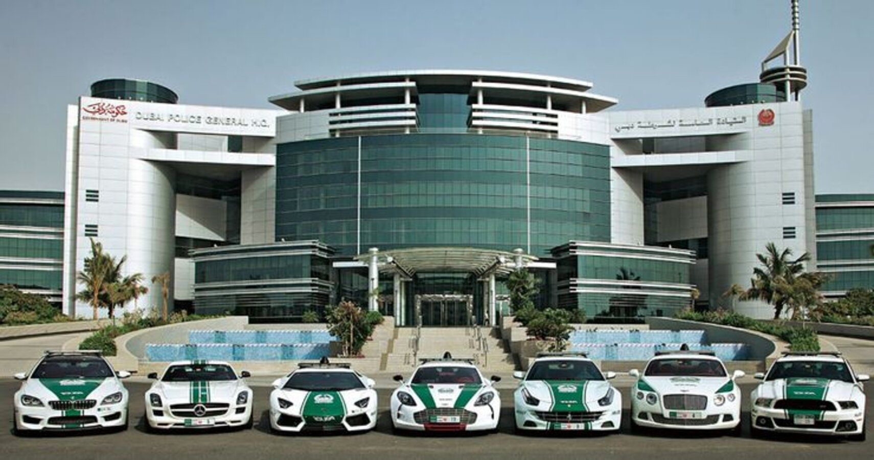 A Look At Some Dubai Police Cars And Why They Are Ridiculously Expensive
