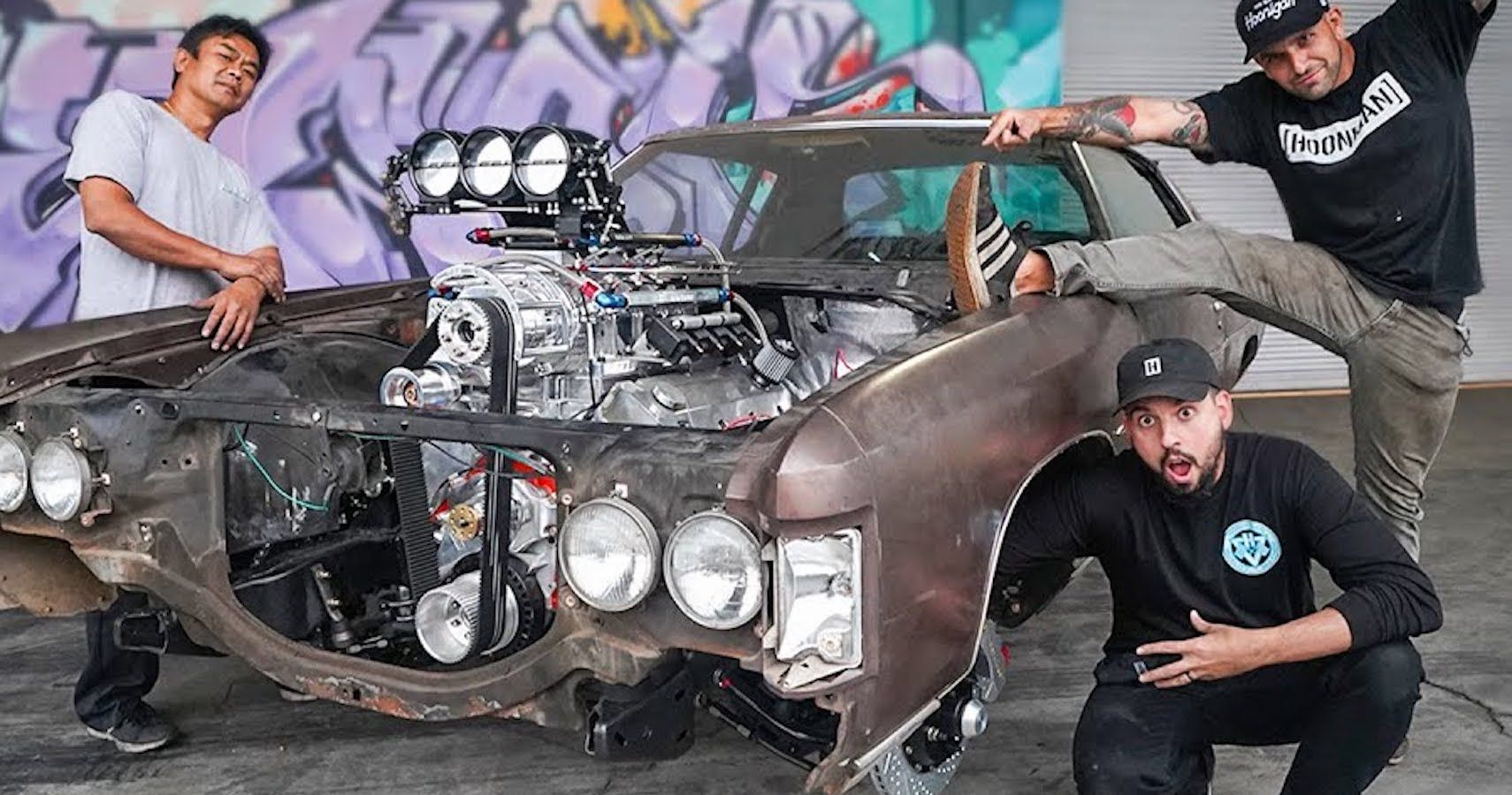 Hoonigan's Donk Project Gets A Carbon Layer And Hockey Puck Bushings