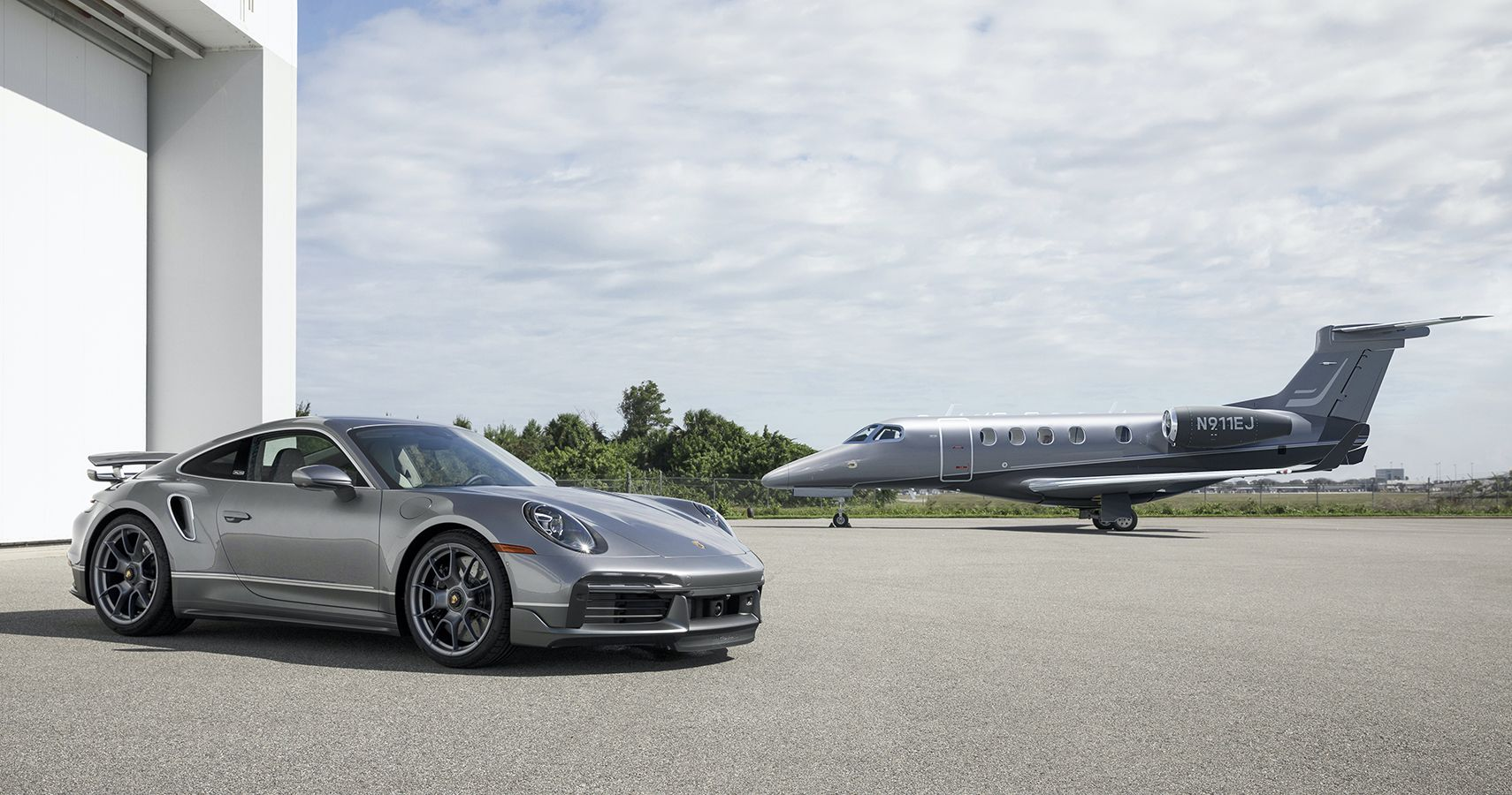 Want This Ultra-Exclusive Porsche 911 Turbo S? You'll Need To Buy This Business Jet First
