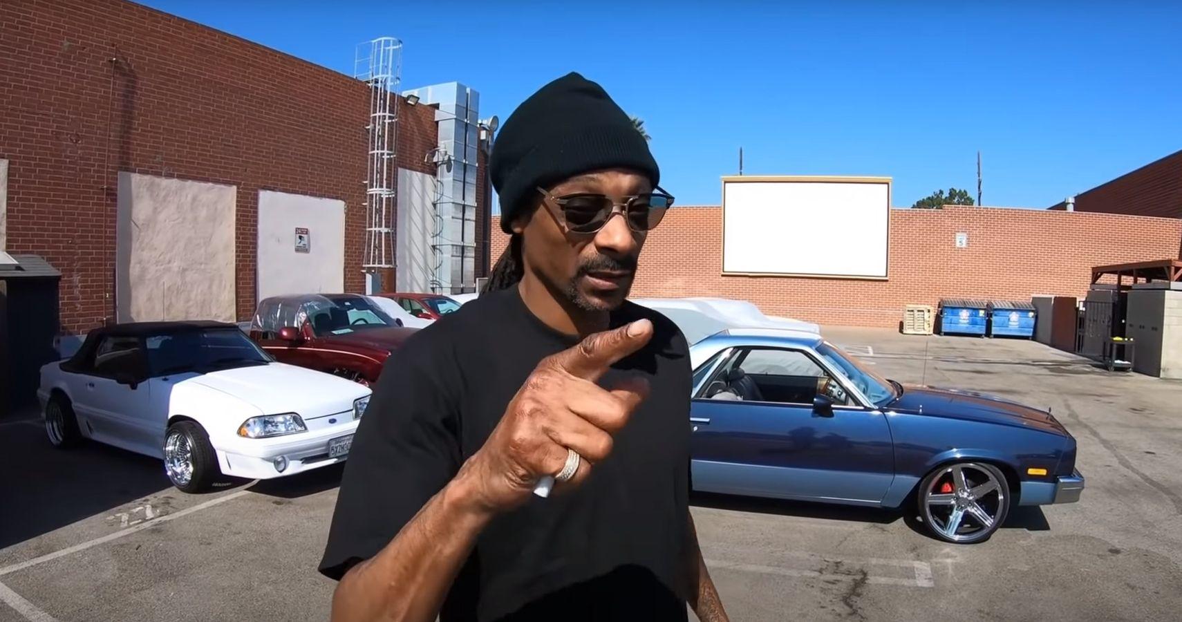 Watch Snoop Dogg Splurge On A Restored El Camino | HotCars