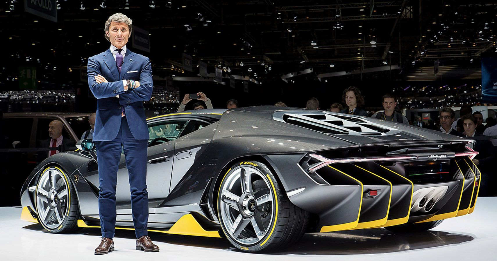 Bugatti's Stephan Winkelmann Named CEO At Lamborghini, Sparking Sell-Off Rumors