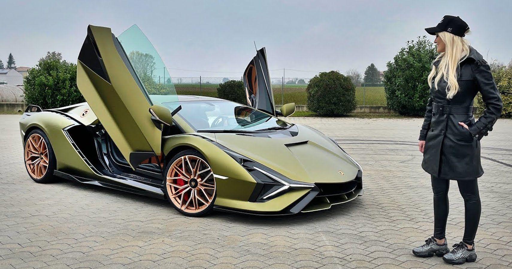 Lamborghini Invites Supercar Blondie To Drive First Supercapacitor-Based Hybrid Sian FKP 37