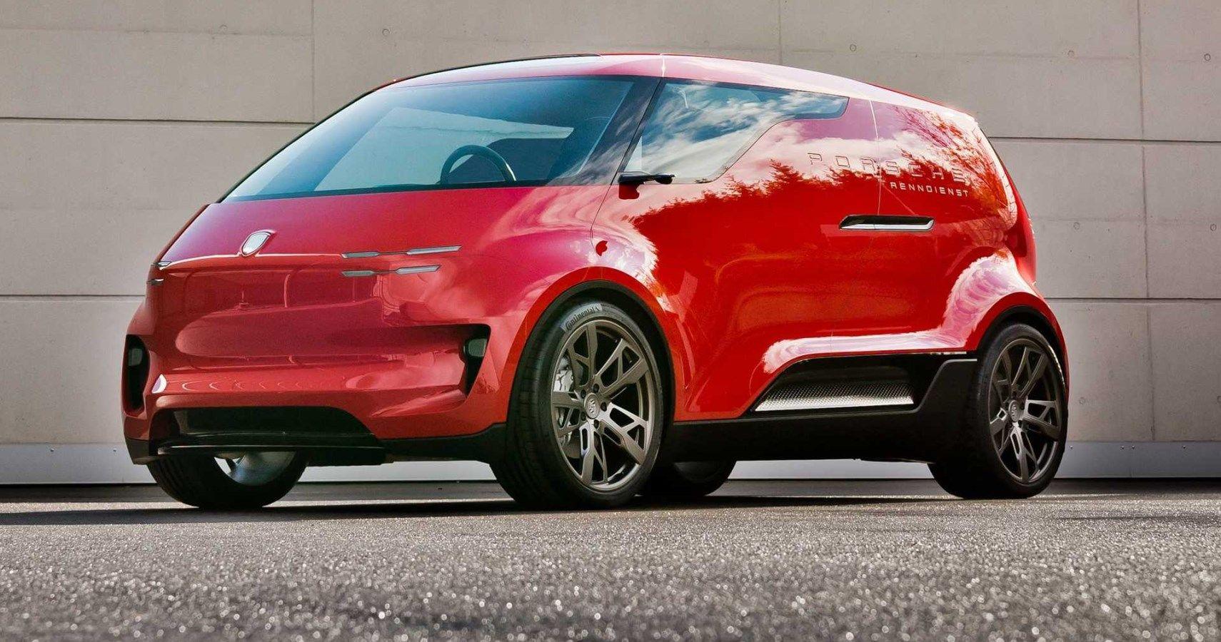 Porsche Lifts The Cover Off Top Secret Minivan Concept | HotCars