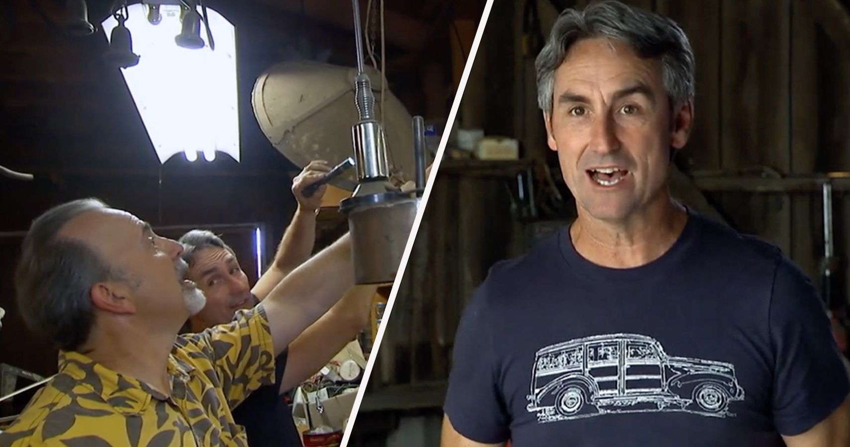 Watch American Pickers' Mike Wolfe Feed His Car Obsession With Vintage Racing Photos