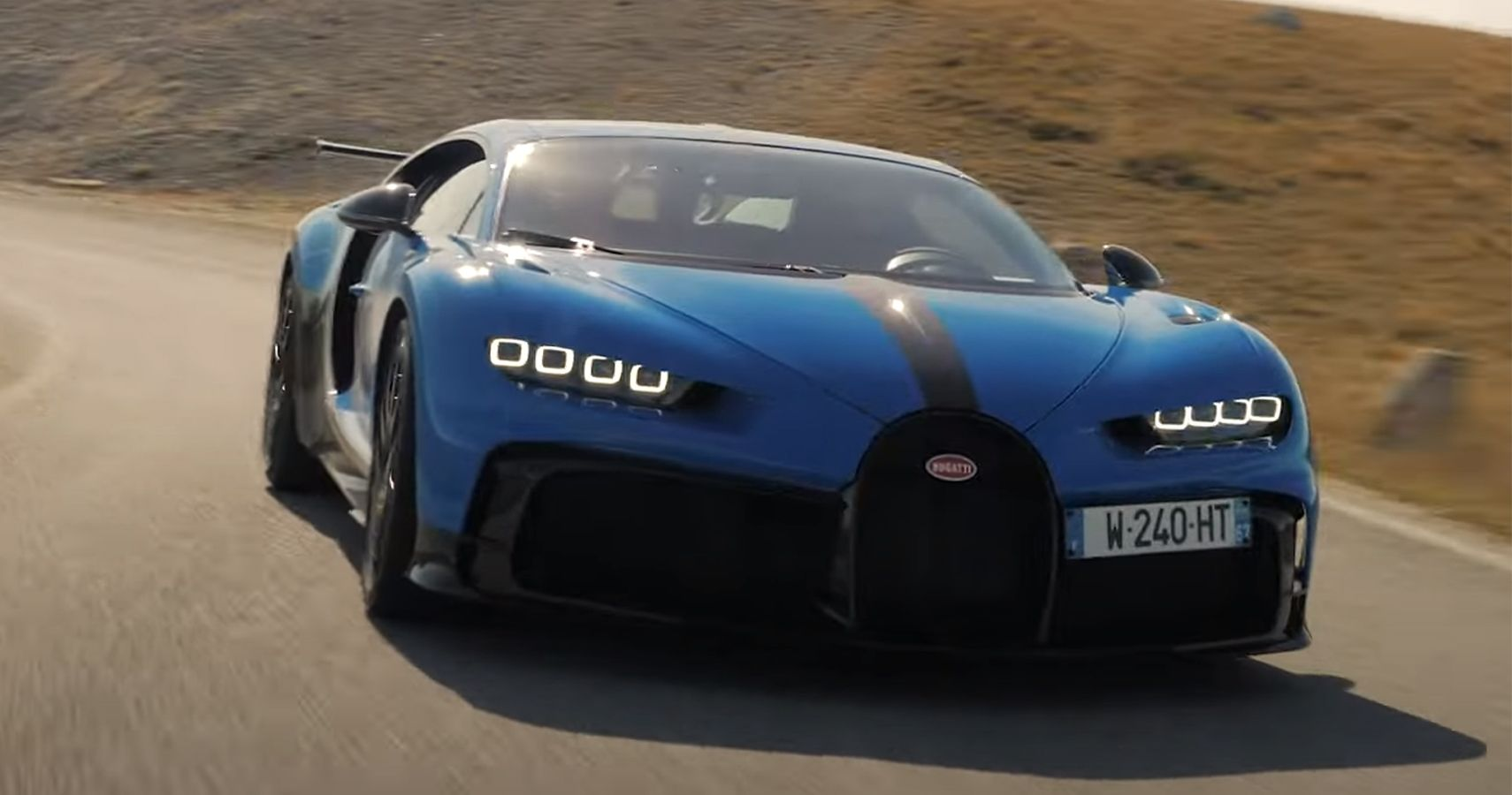 Watch This Chiron Pur Sport Tackle Italy's Appennini Mountains