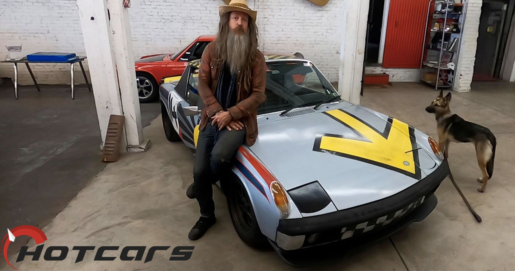 EXCLUSIVE: HotCars.com Checks Out Magnus Walker's Porsche 914 SEMA Art Car