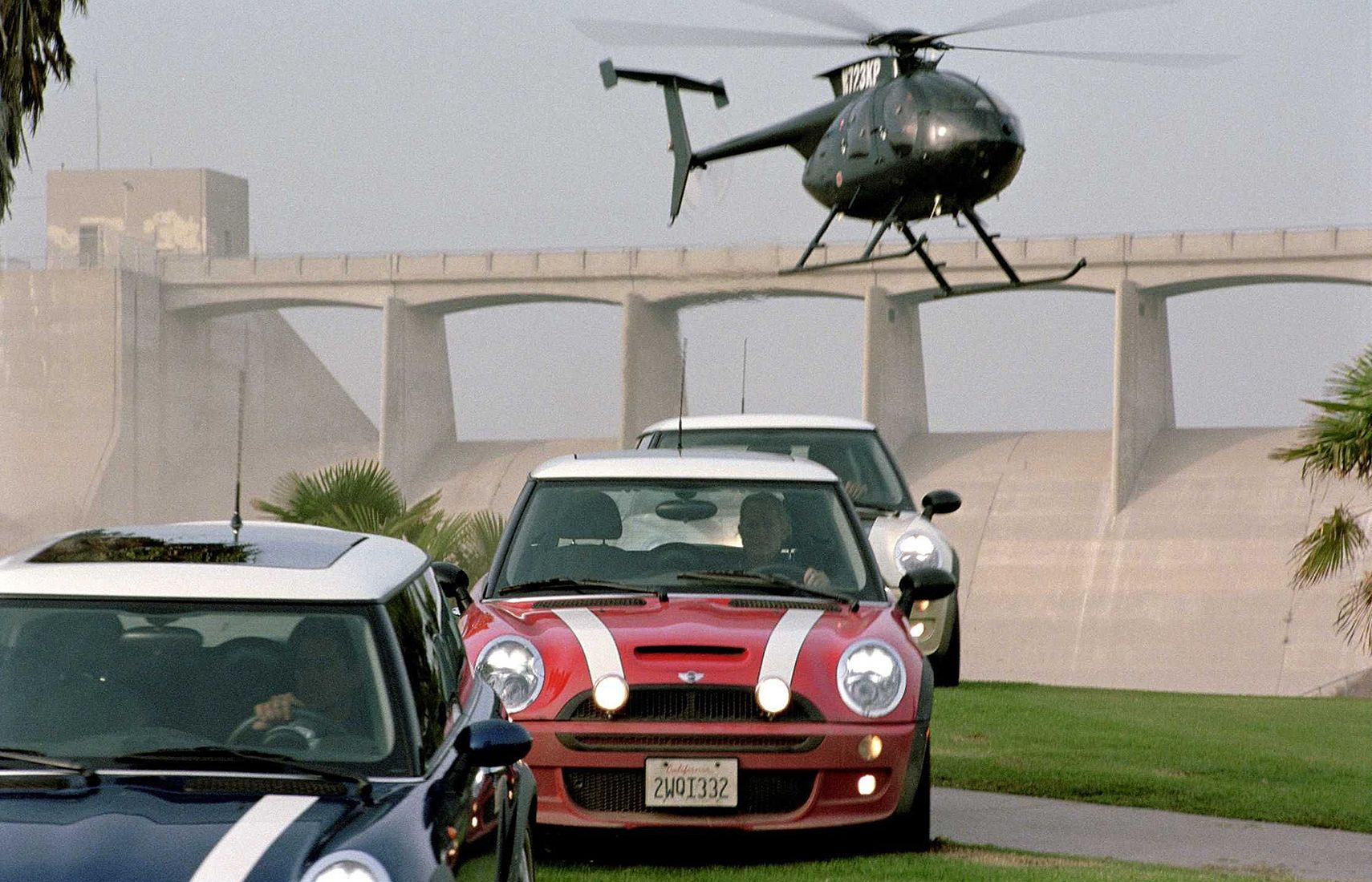 Here's Where The Mini Coopers From The Italian Job Are Today