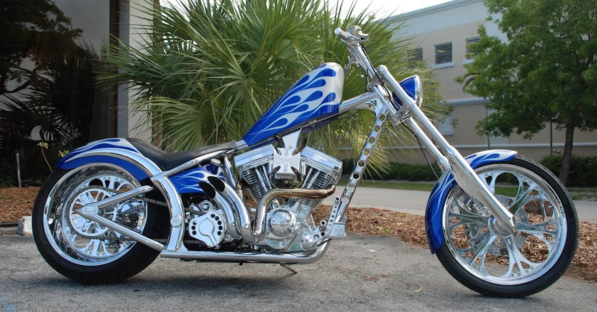 This Is The Sickest Build From West Coast Choppers We've Ever Found