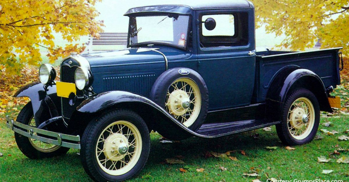 Here's How Much A Classic 1930s Ford Pickup Truck Is Worth Today