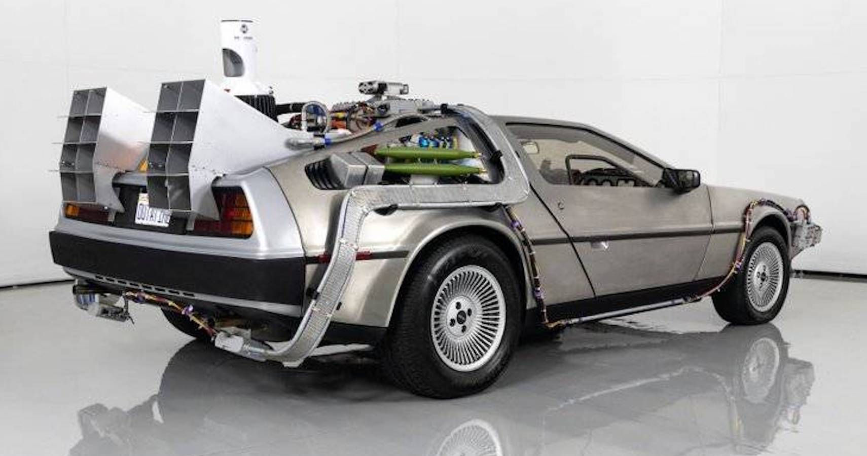 1981 DeLorean DMC-12 With Back To The Future Modifications On Hemmings