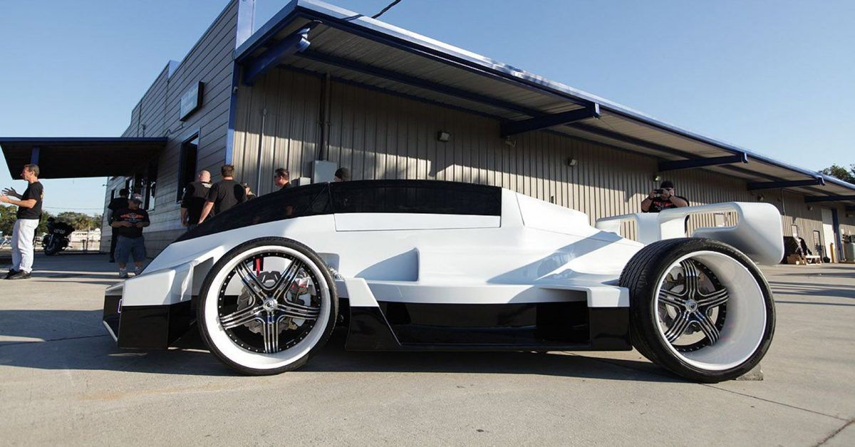 50 Cent's Jet Car And 9 Other Weird Cars Owned By Celebrities