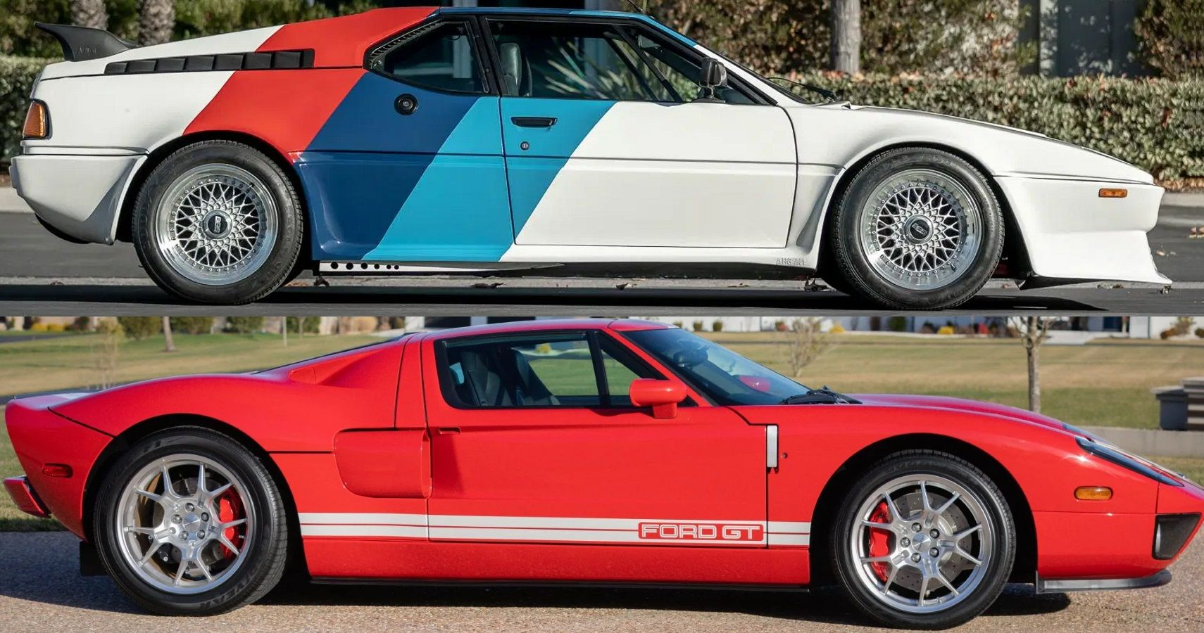 Extreme Auction Dilemma: 1980 BMW M1 Vs 2005 Ford GT