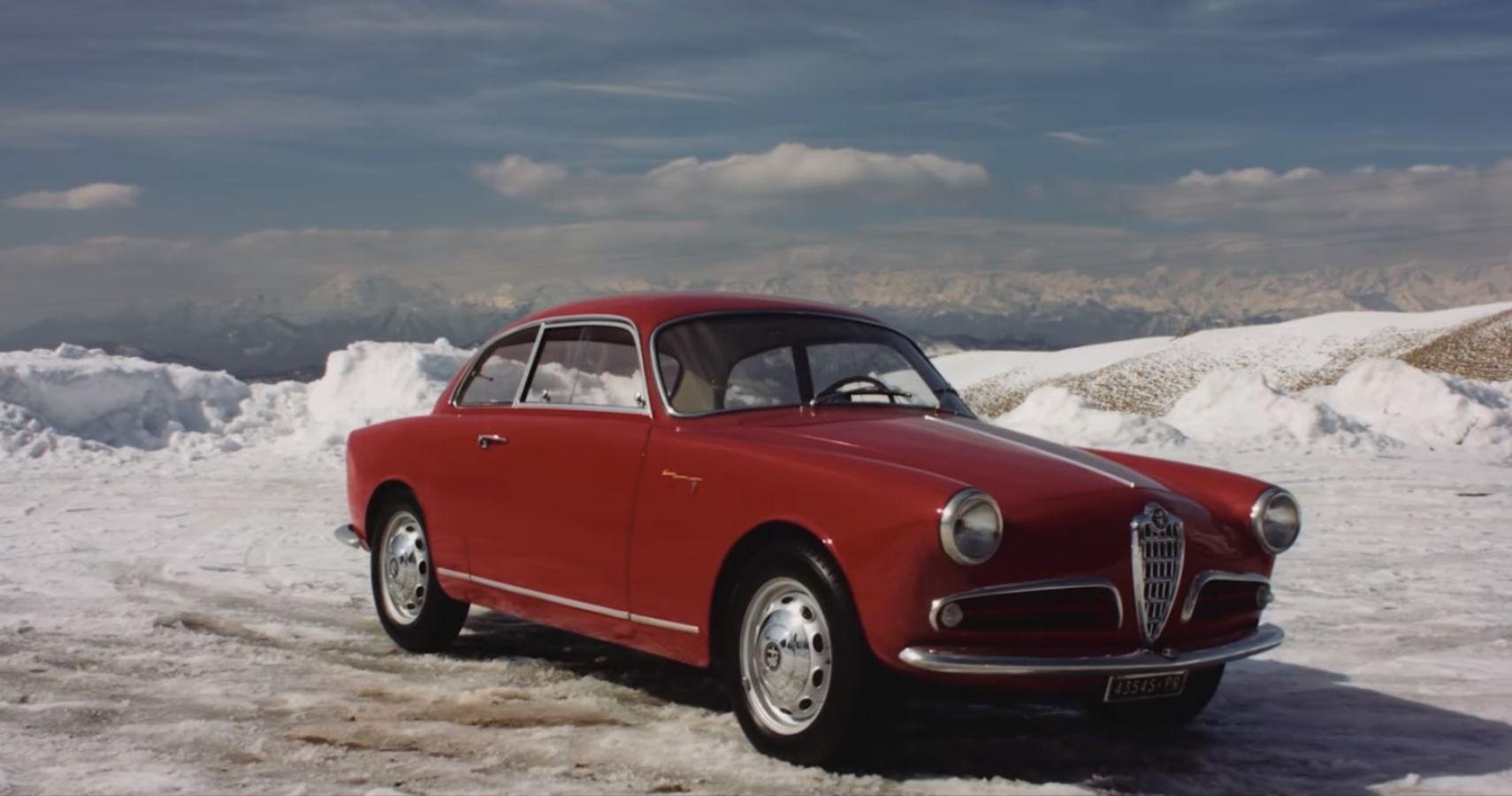 "Alain de Cadenet And Petrolicious Take Us Through The Stunning 1957 Alfa Romeo Giulietta Sprint Velocoe ""Alleggerita"""
