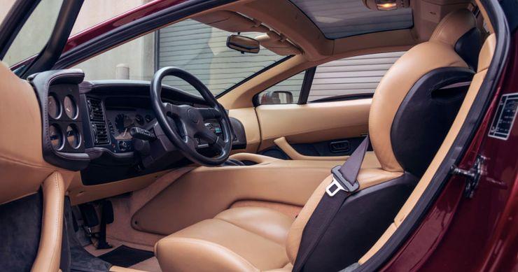 Ultra-Rare 1-Of-7 Jaguar XJ220 Supercar In Monza Red Headed To Mecum
