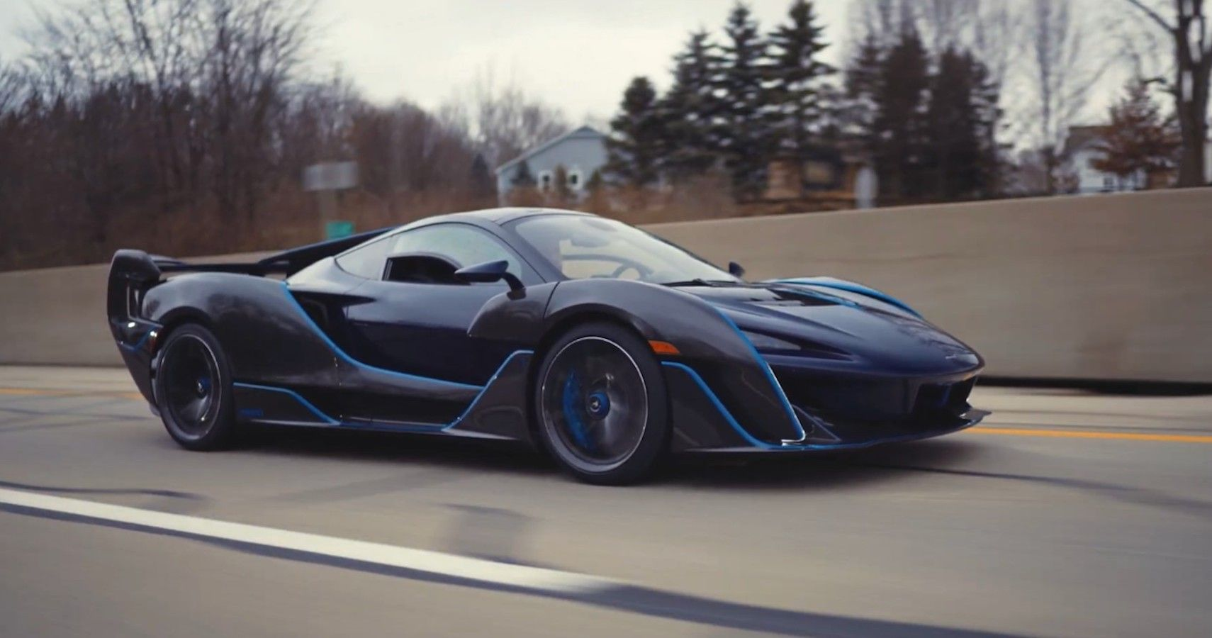 Witness This McLaren Sabre Supercar Unleashed On Roads For The First Time