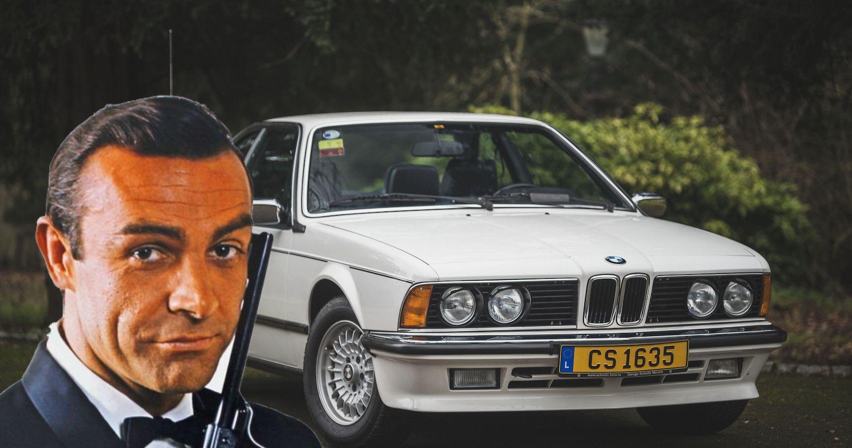 Sean Connery's BMW 635CSi Heads To Auction | HotCars