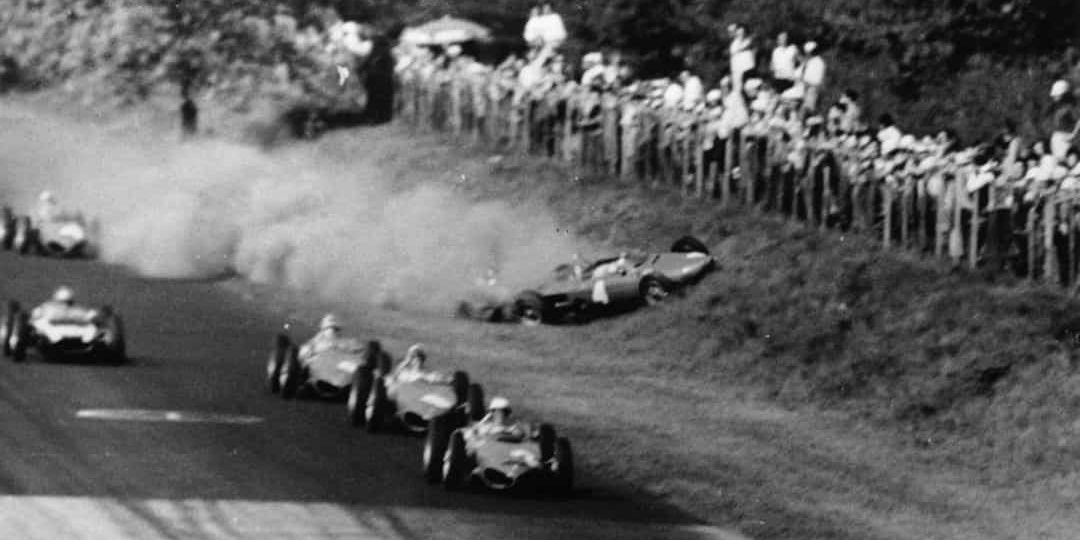 10 Worst Crashes In The History Of Formula One | HotCars