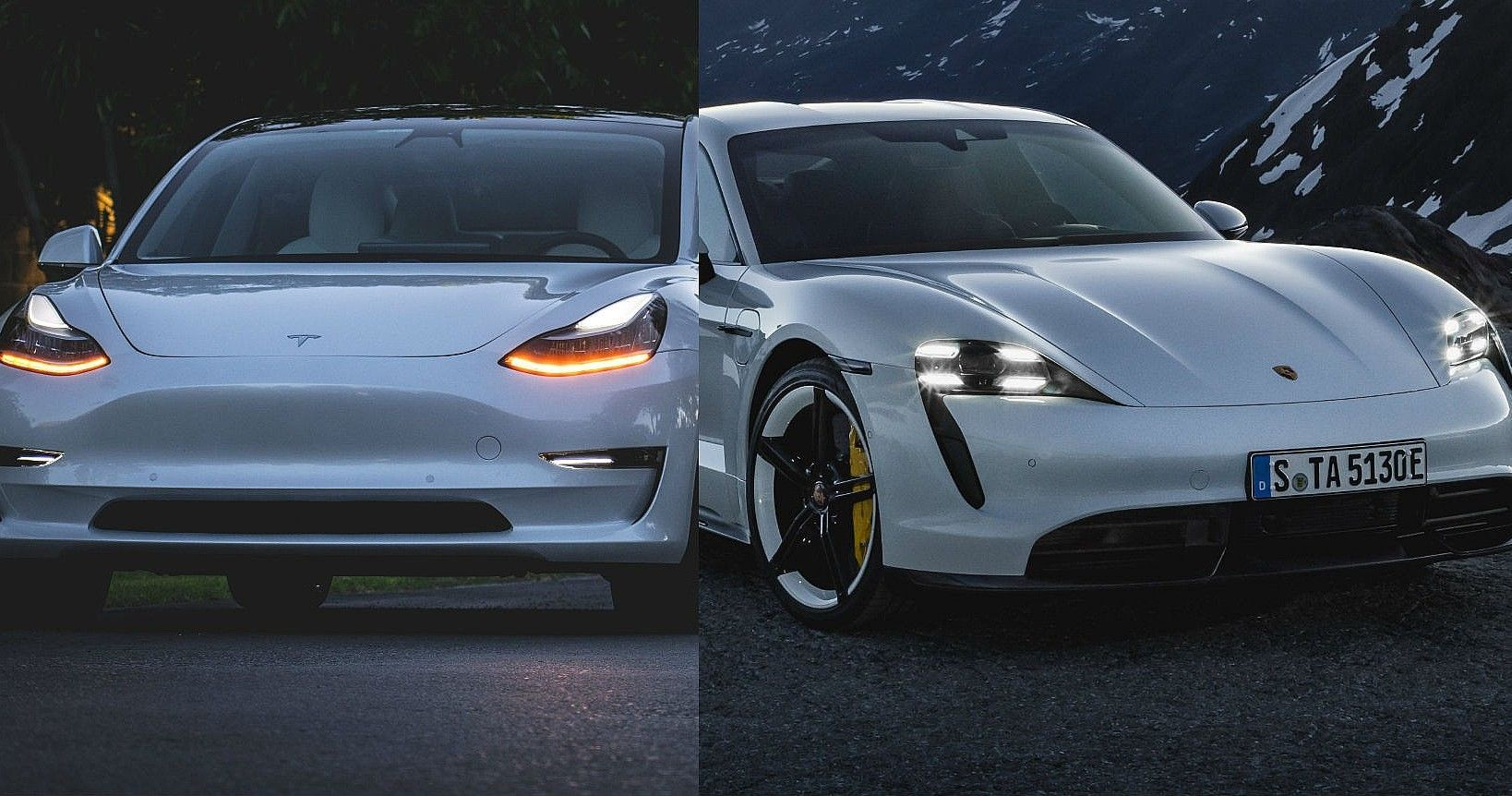 Here's What Makes the Tesla Model 3 and Porsche Taycan The Best Electric Cars In 2021