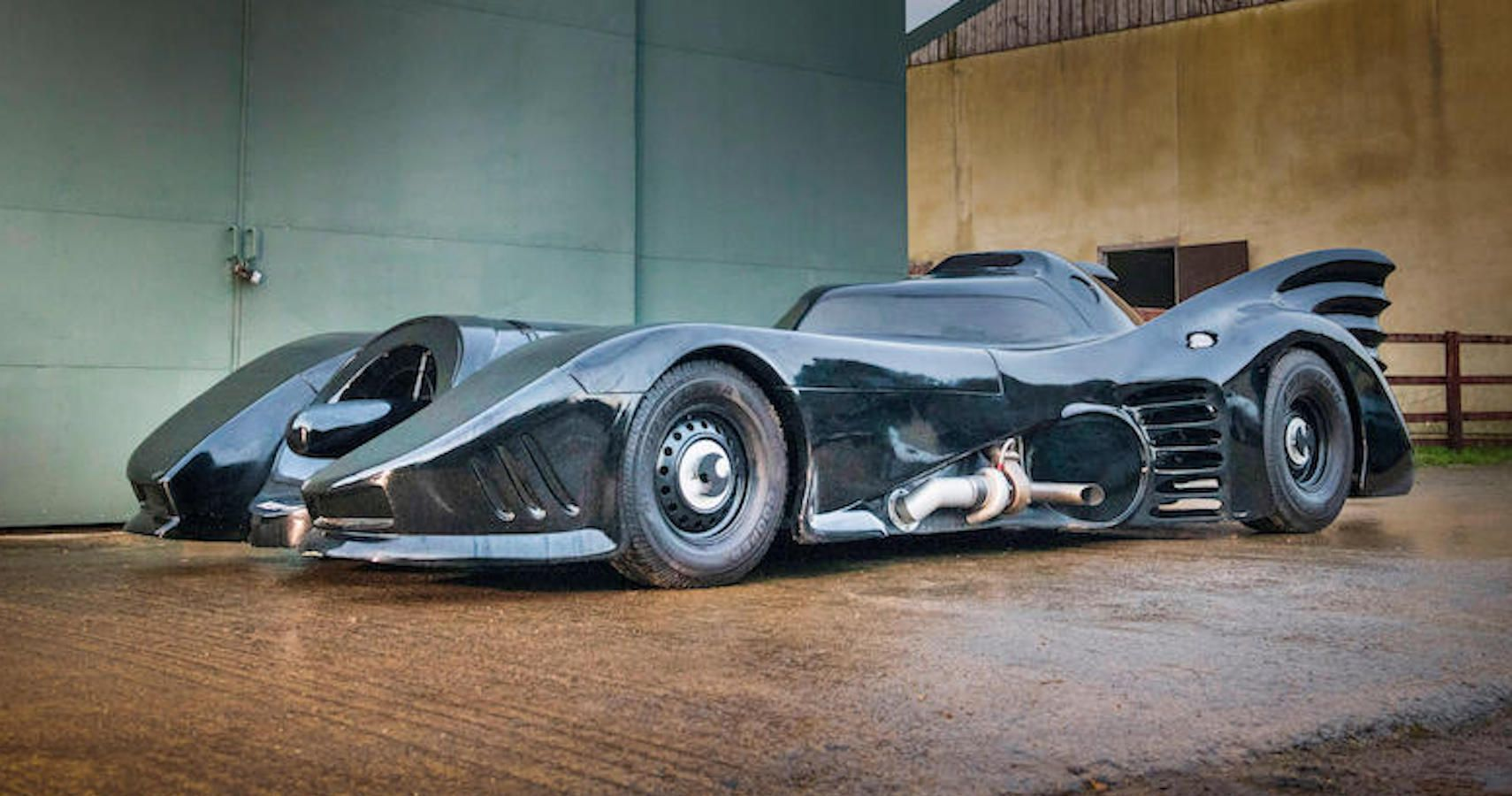 Start Measuring Your Garage To Make Room For This Batmobile Replica Up For Auction
