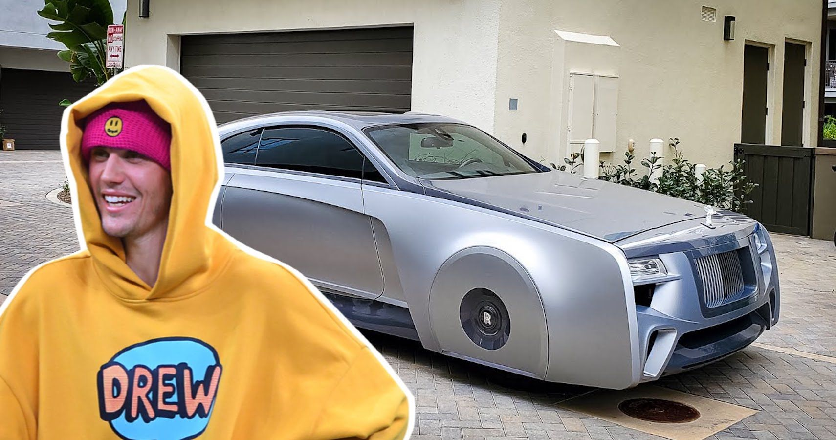 Justin Bieber's Floating Rolls-Royce Wraith Spotted By YouTuber