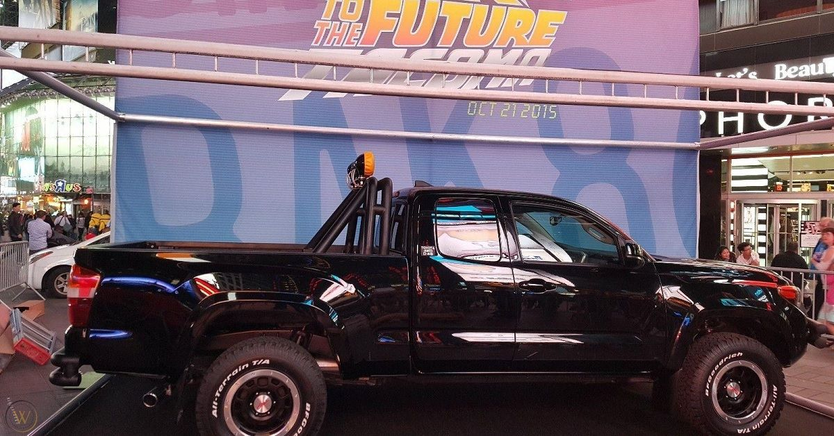 Here's Where The Toyota Pickup From Back To The Future Is Today