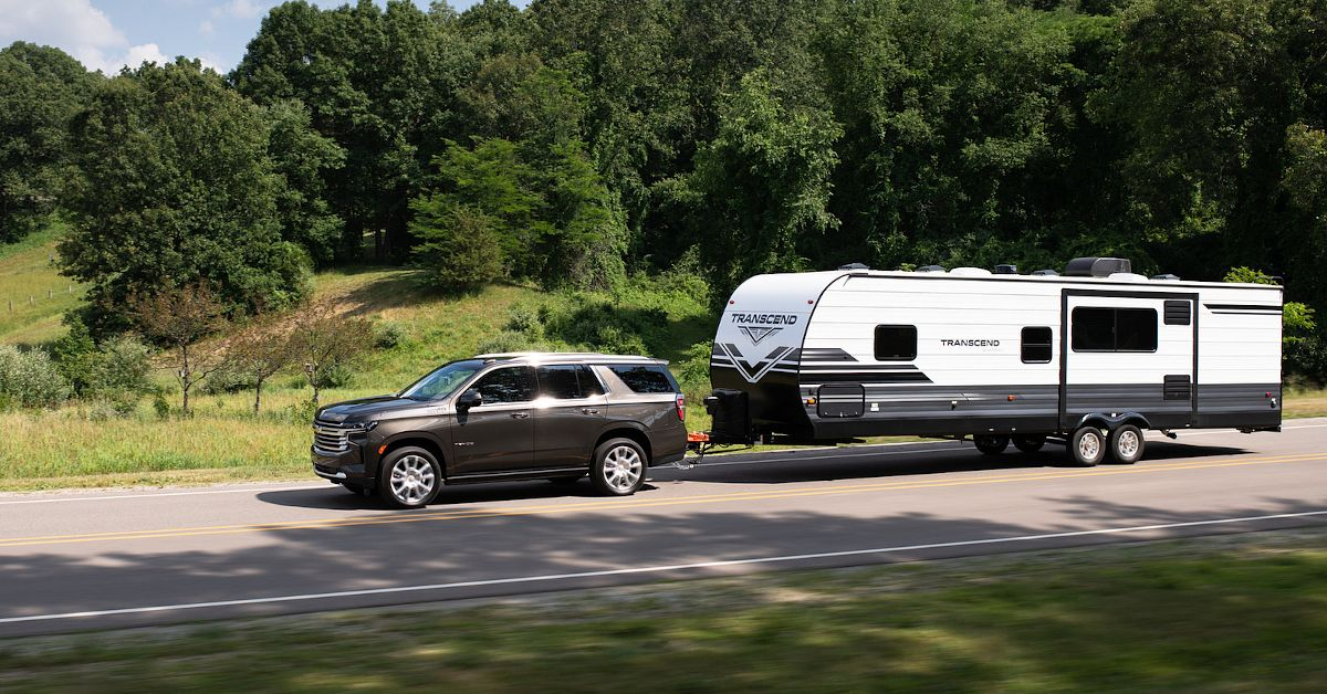 Here's What Makes The 2021 Chevy Tahoe Good For Road Trips