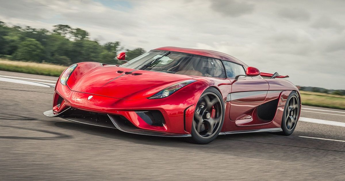 Here's Why The Koenigsegg Regera Doesn't Have A Gearbox | HotCars