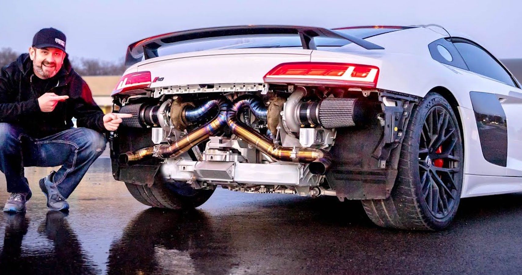 Chicago-Based Tuner Coaxes Four-Figure Horsepower From Audi R8