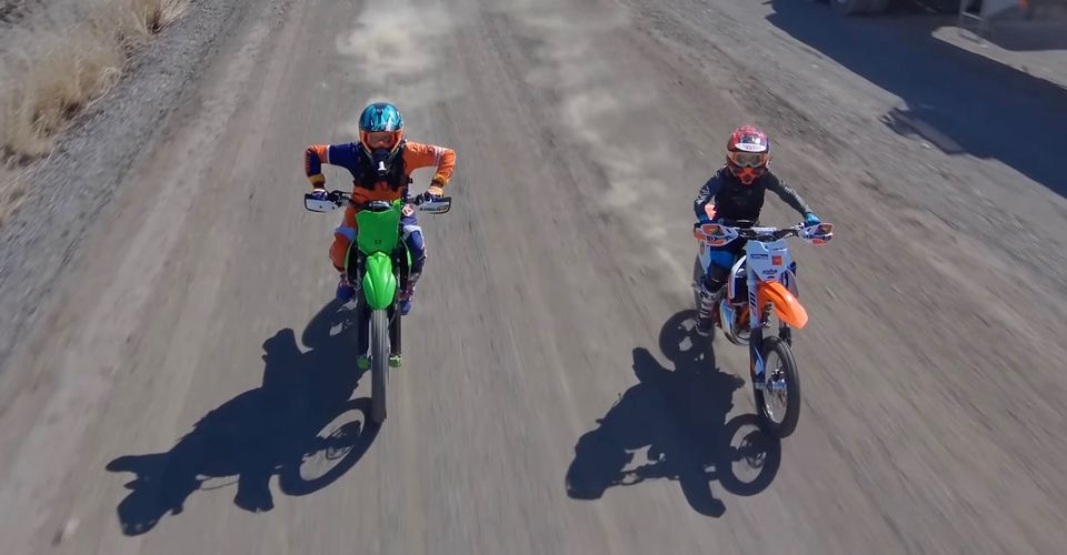 2021 Ktm 85 Sx Vs 2021 Kawasaki Kx250x Race Explores Age-old Debate