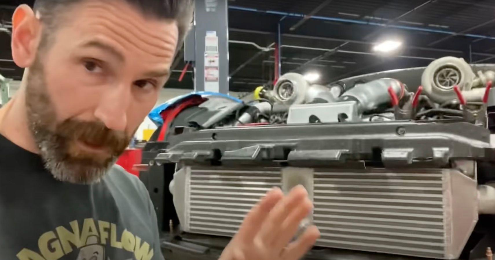 Aaron Kaufman's Wizardry On Display In 1500-HP Ferrari F12 Build For YouTuber