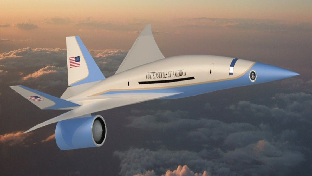 Air Force Mach One: How The Military Plans To Make Air Force One Supersonic