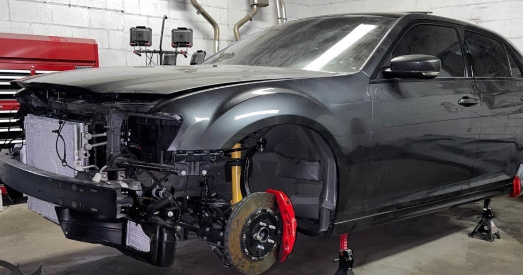 Hellcat-Swapped Chrysler 300 Nears Initial Start-Up | HotCars