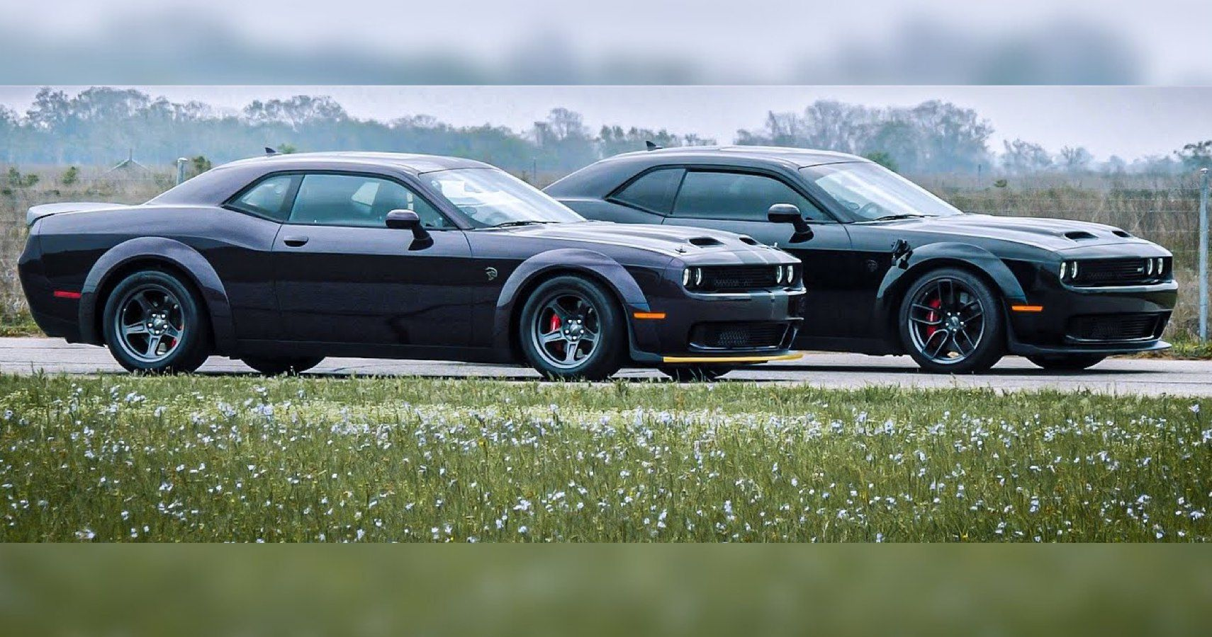 2021 Hellcat Super Stock Looks Tired Compared To Hennessey's 1,000-HP Hellcat Redeye
