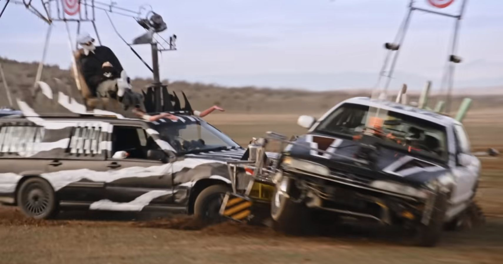 MythBusters' Adam Savage Staged A Battle Royale Between Mad Max-Inspired Cars