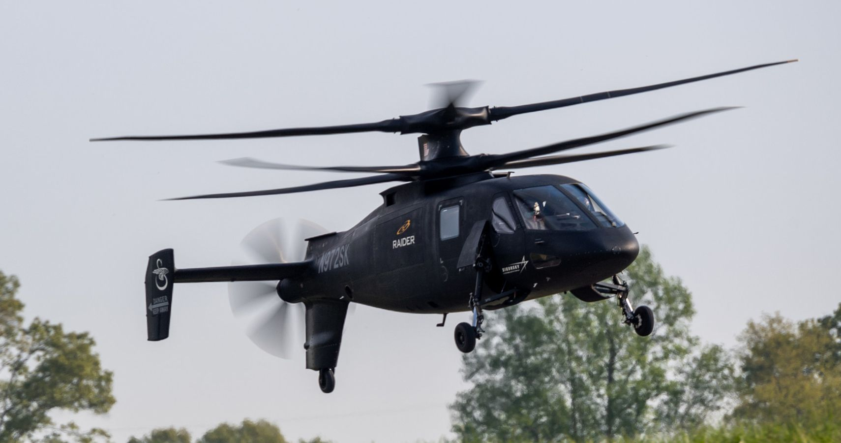 Watch: Sikorsky S-97 Raider Looks Super Fast And Agile During Test Flight