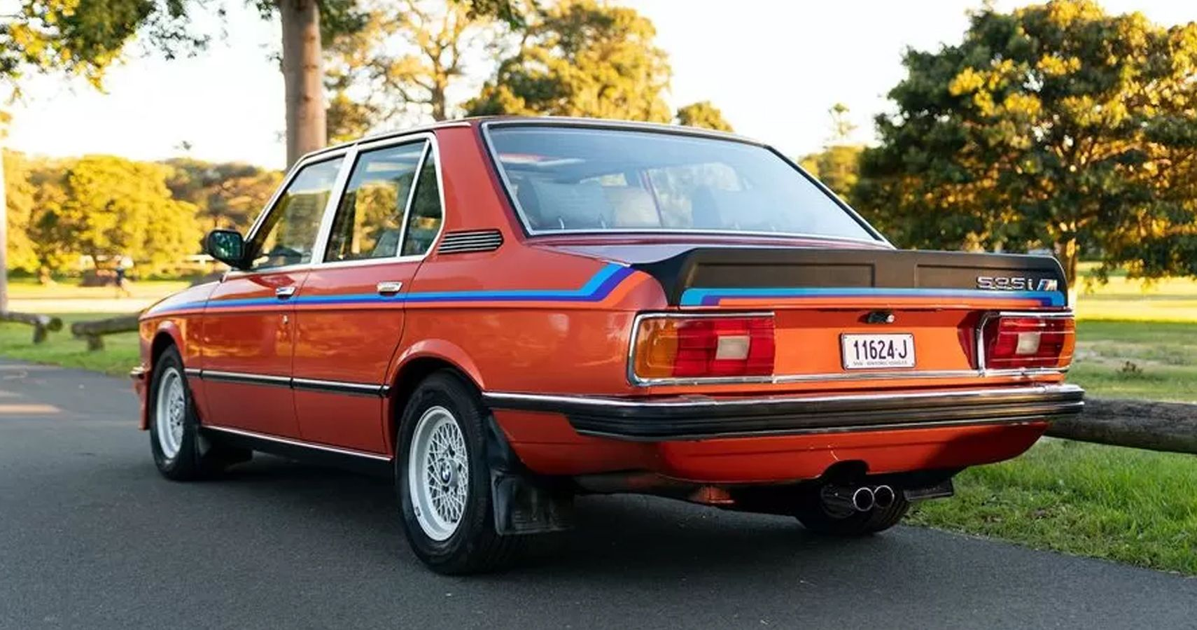 Rare BMW M535i E12 In Perfect Condition Is Up For Auction Down Under