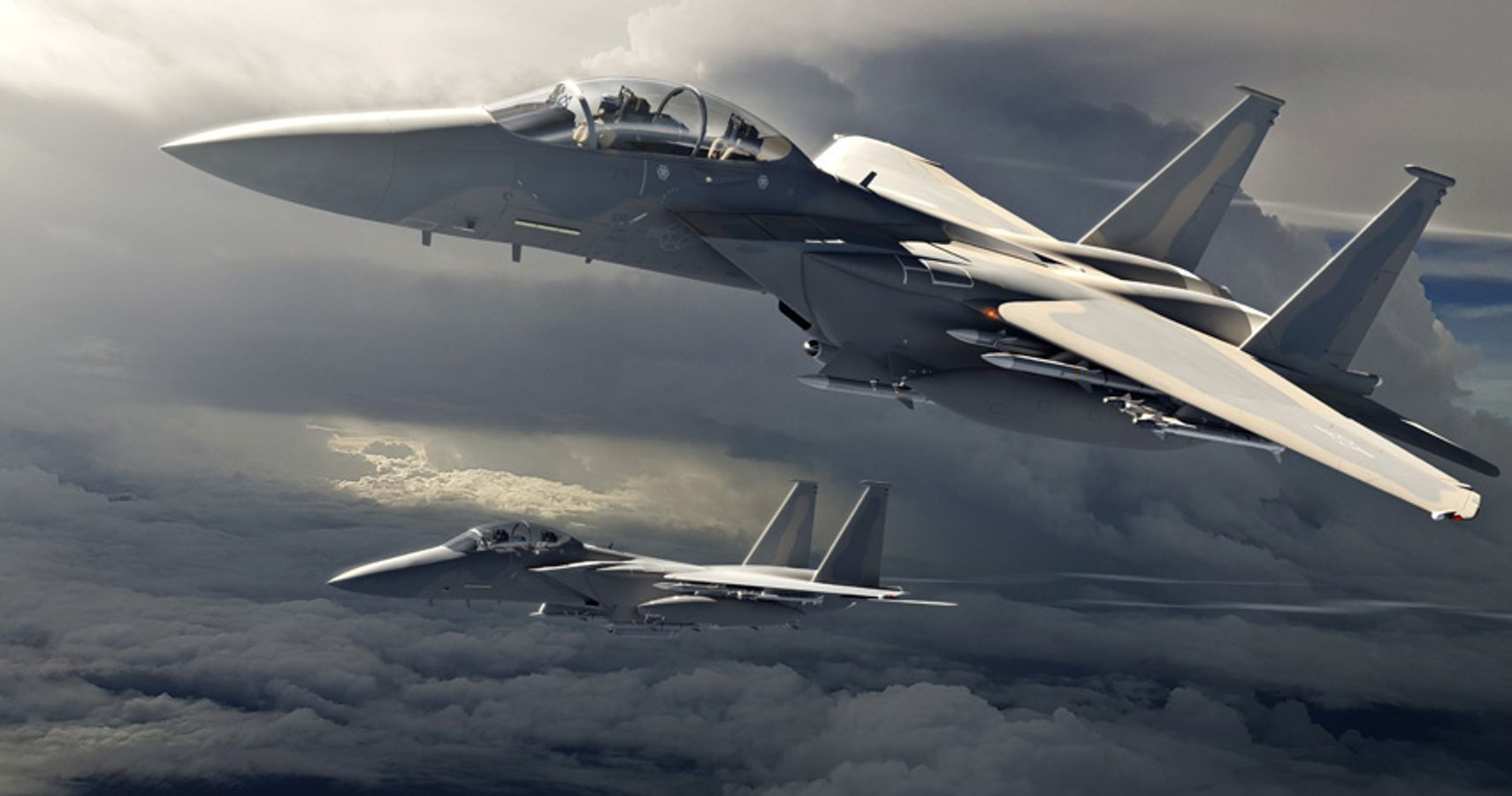 A Detailed Look At The U.S. Air Force's New F-15EX Fighter Jet