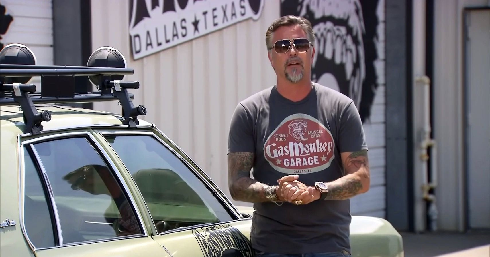 Richard Rawlings Uncovers Rare Garage Find Hunting For A Challenger Hot Rod