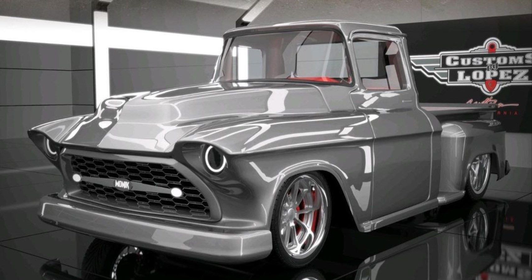This 1956 Chevy Pickup Is Turning Into A Slick Hot Rod   HotCars