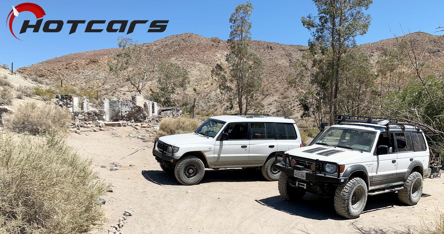 Mitsubishi Monteros Visit The Manson Family Hideout At Barker Ranch