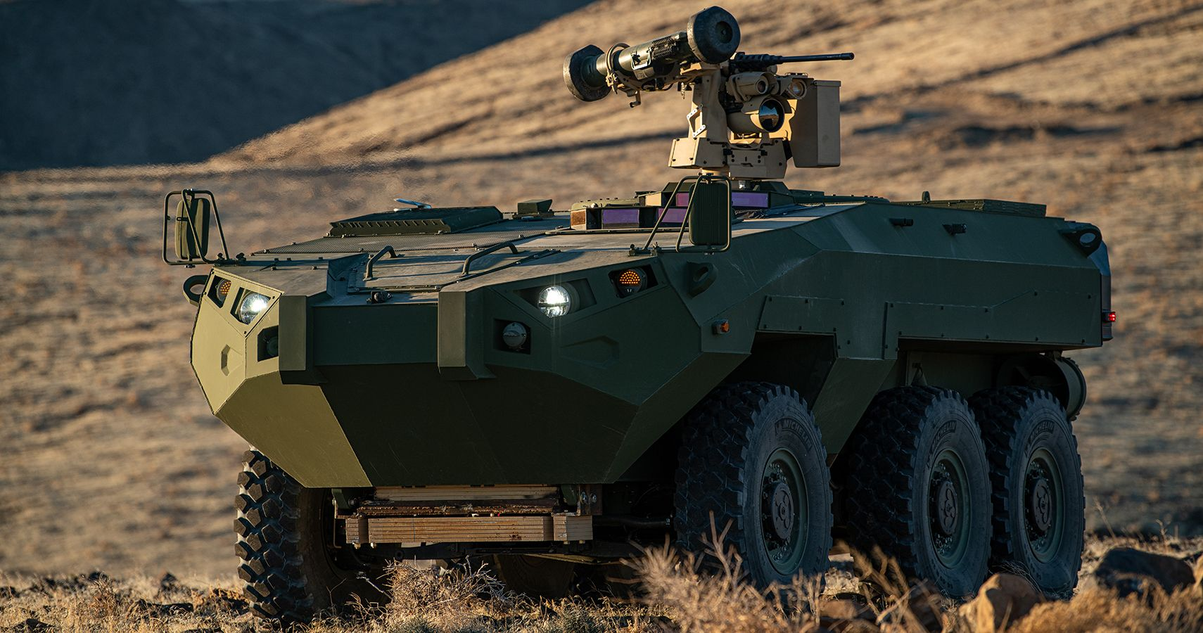 Cottonmouth Amphibious Vehicle Tech Lets Marines 'See-Through' Armor