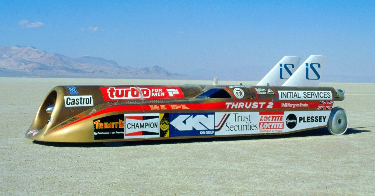 Looking Back At Richard Noble's Thrust2 Record Breaker | HotCars