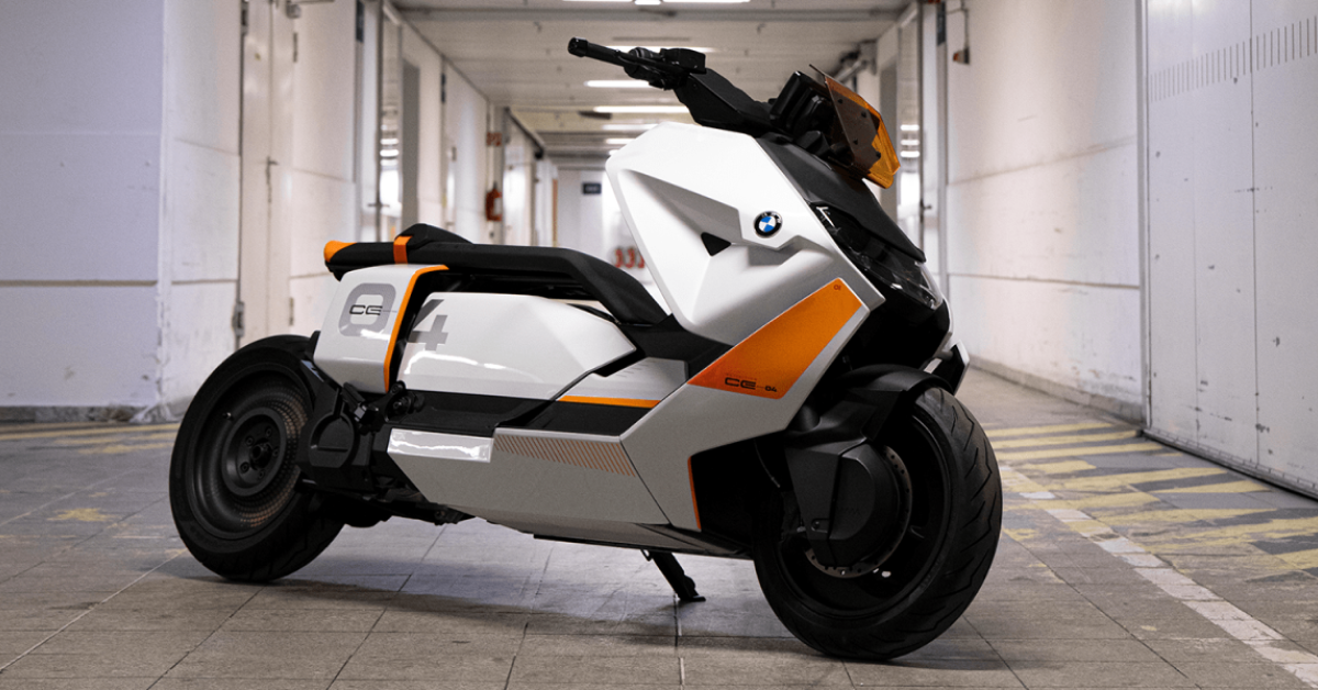 Here's Everything We Know About The BMW CE 04 Electric Scooter