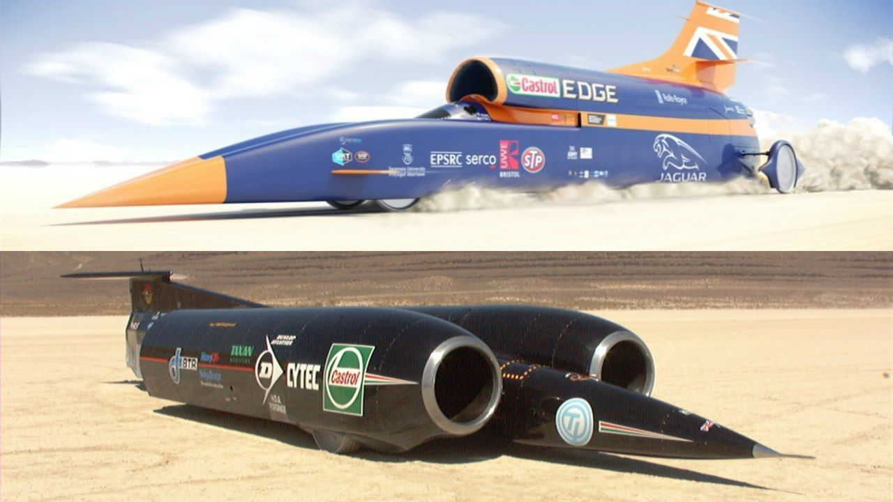 10 Mind-Bending Facts About The World's Fastest Land Vehicle, The Thrust SSC