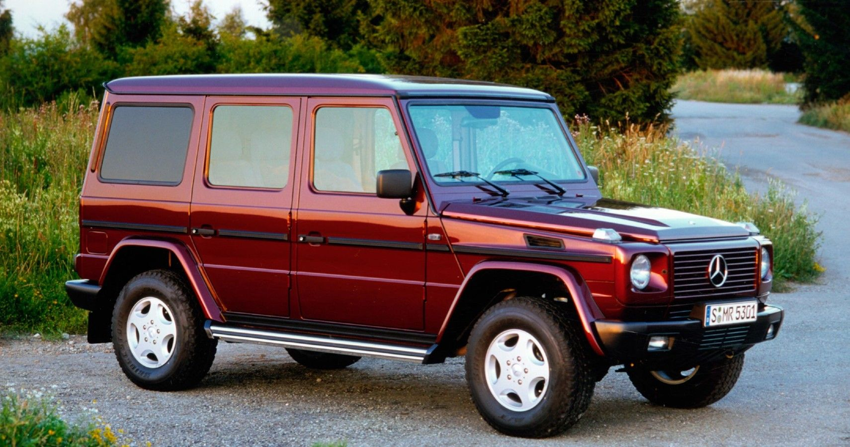 Here's Why G-Wagon Is The Best 1990s Mercedes SUV | HotCars